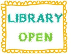 Library Open Early Everyday and After School Monday-Thursday Thumbnail Image