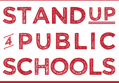Stand by Public Schools logo