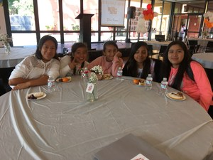 a group of 6th grade girls at conference, image 2