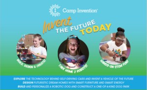 Camp Invention Graphic