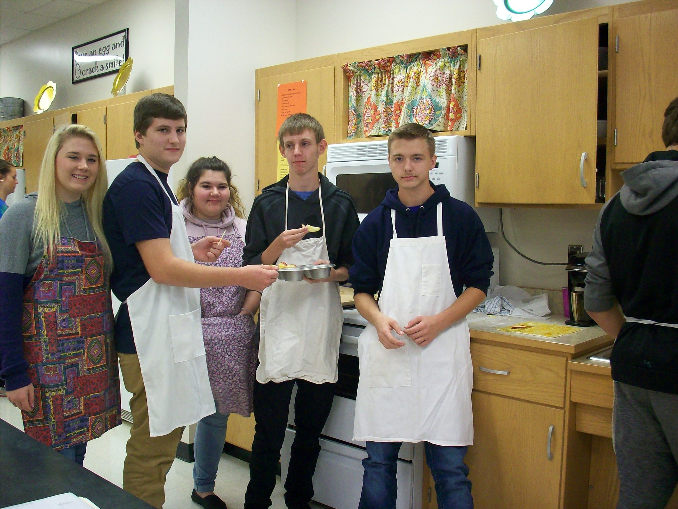 East Wilkes High Foods students showcase their work