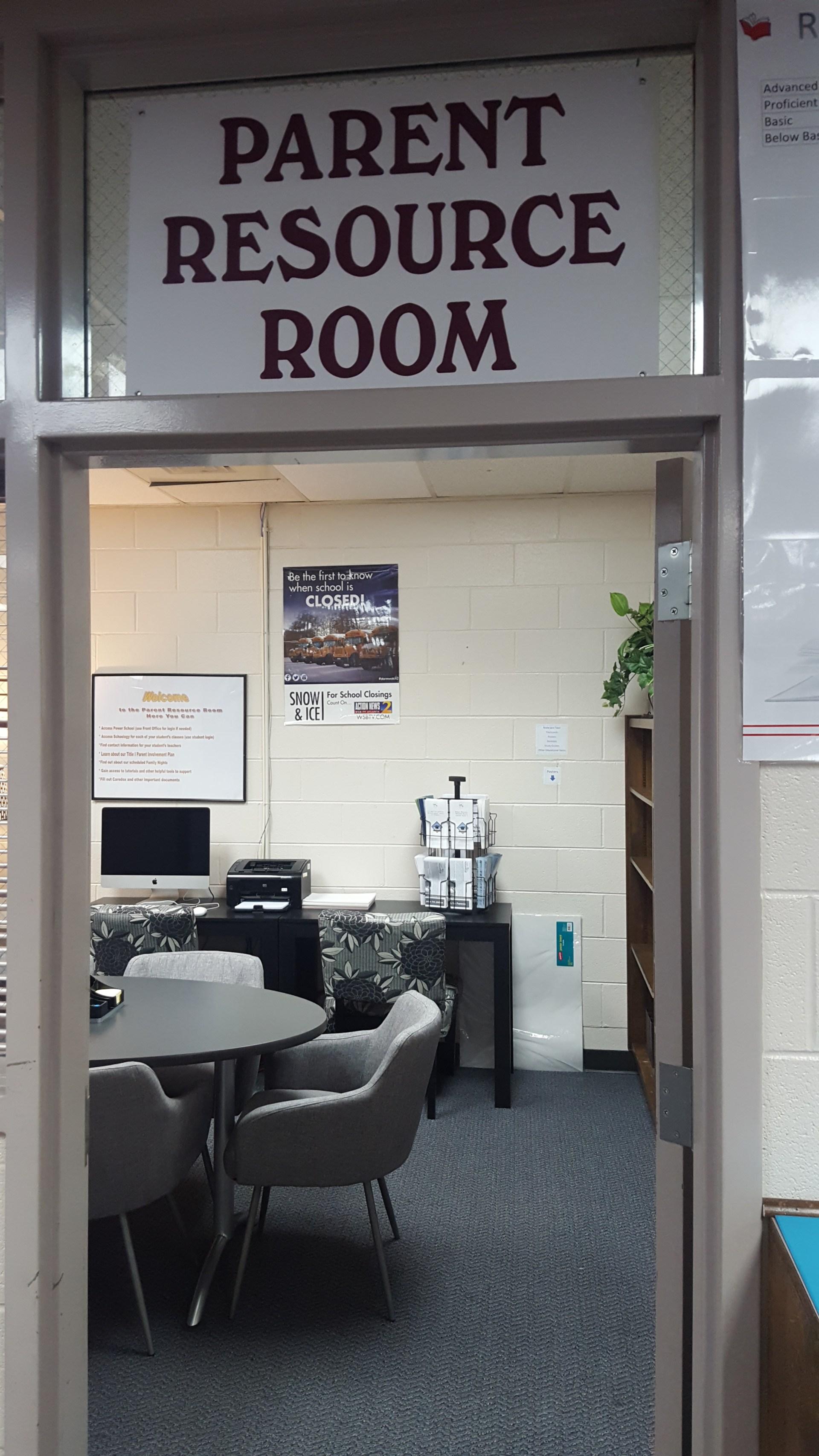 Parent Resource Room 1