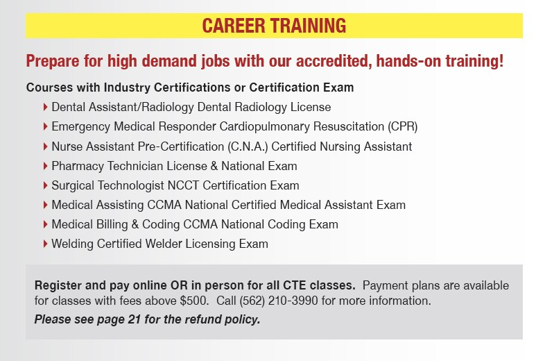 Career Technical Education – Career Technology – Norwalk-La Mirada ...
