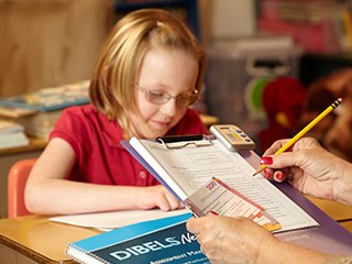 Photo of a Child Learning