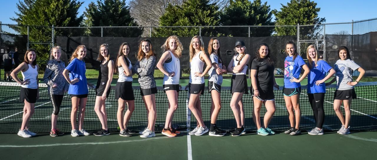 LCHS Ladies Tennis