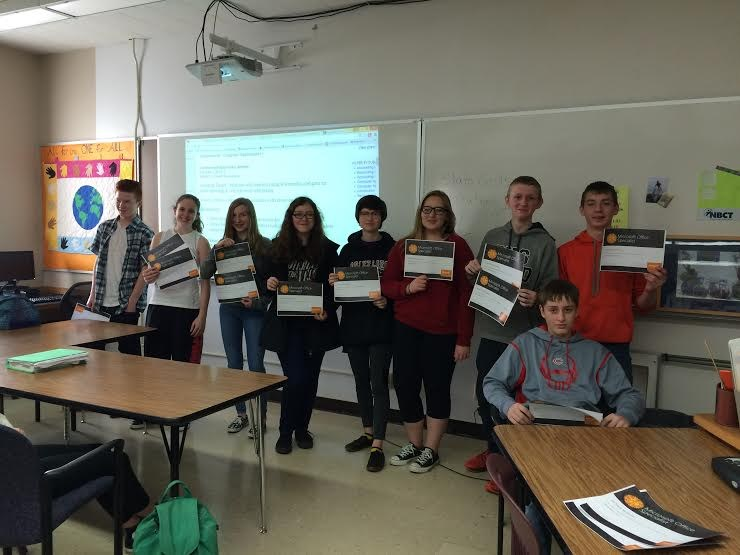 Students who earned Office Certifications
