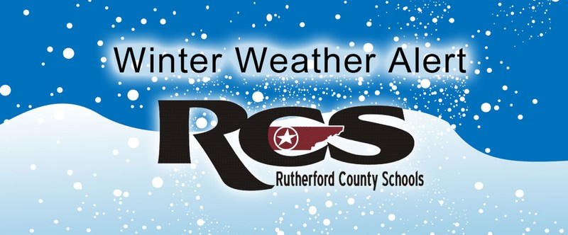 Rutherford County Schools will remain CLOSED, Jan. 18, 2018, because of road conditions Thumbnail Image