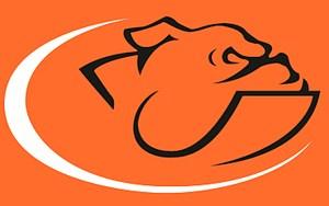 Cross Country team bulldog logo