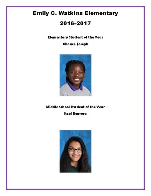 Students of the Year