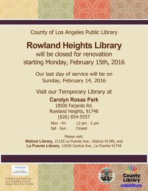 RH Library Closed and Temporary Location Flier.jpg