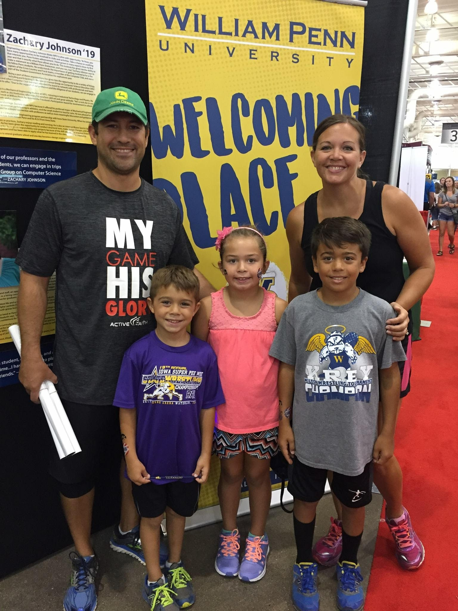 Family at the State Fair