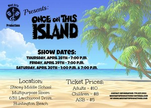 Once on this Island Flyer