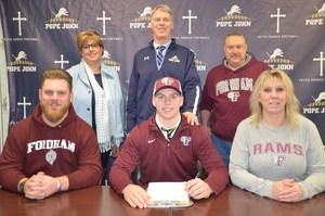 PJ senior Ryan Greenhagen signs NLI