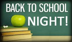Back to School Night! August 24 at 6-8:30P Featured Photo