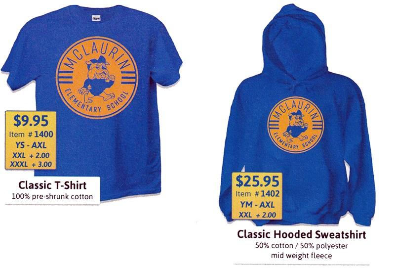 McLaurin Elementary School Spirit Wear on Sale Now Thumbnail Image