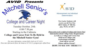 AVID College and Career Night Information