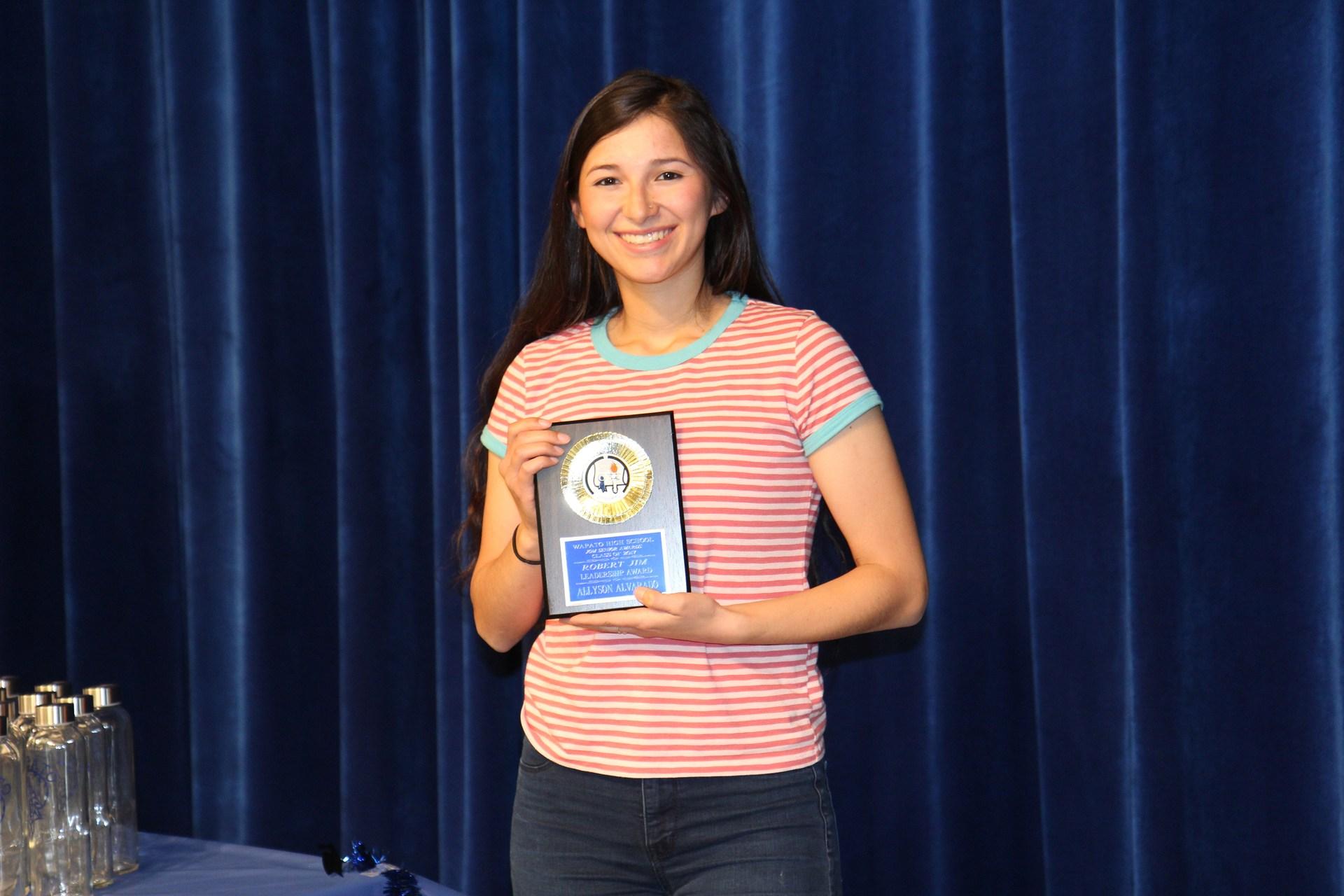 Allyson Alvarado-Wapato High School Class of 2017