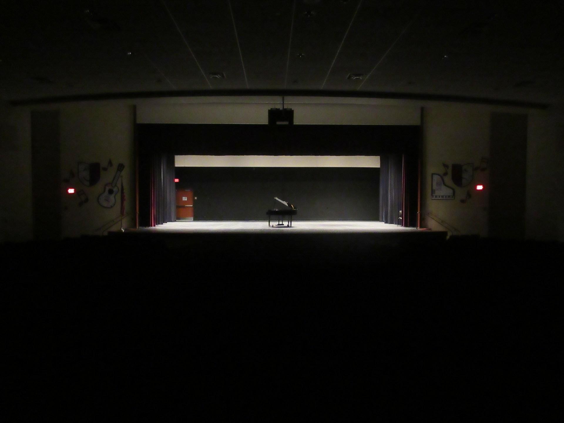 AAJHS Auditorium Stage