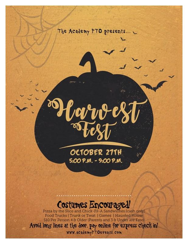 Harvest Fest - October 27 5 - 9 PM Thumbnail Image