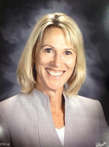Portrait of Dr. Sandra Schiber, Superintendent