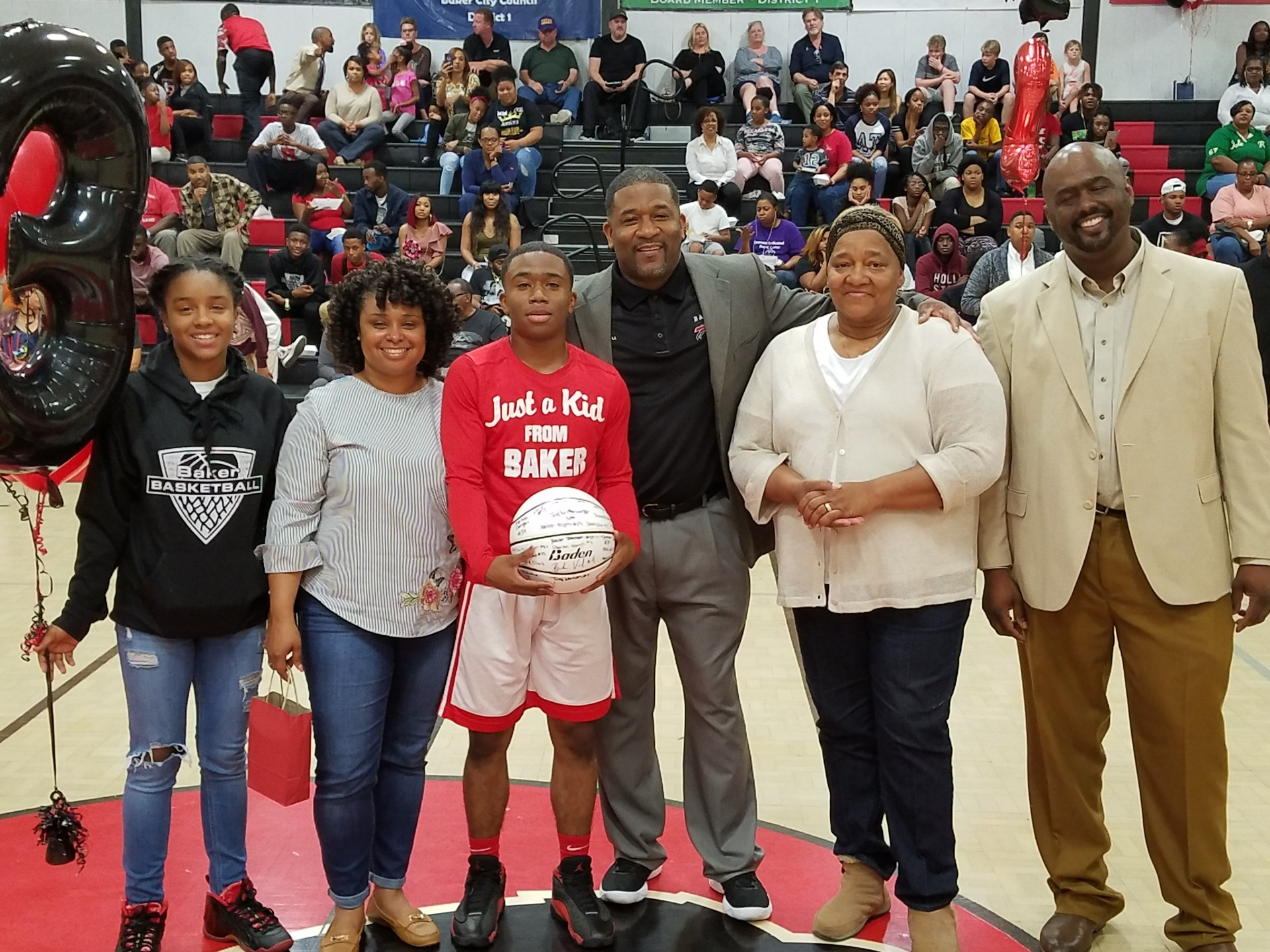 Charles Harris - Baker High School Boys Basketball Senior