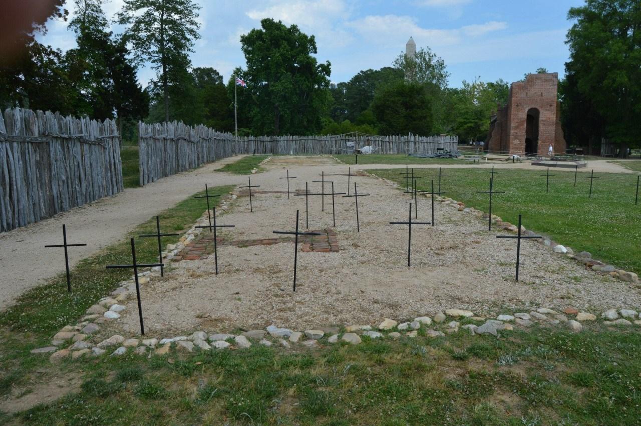 Jamestown Graveyard
