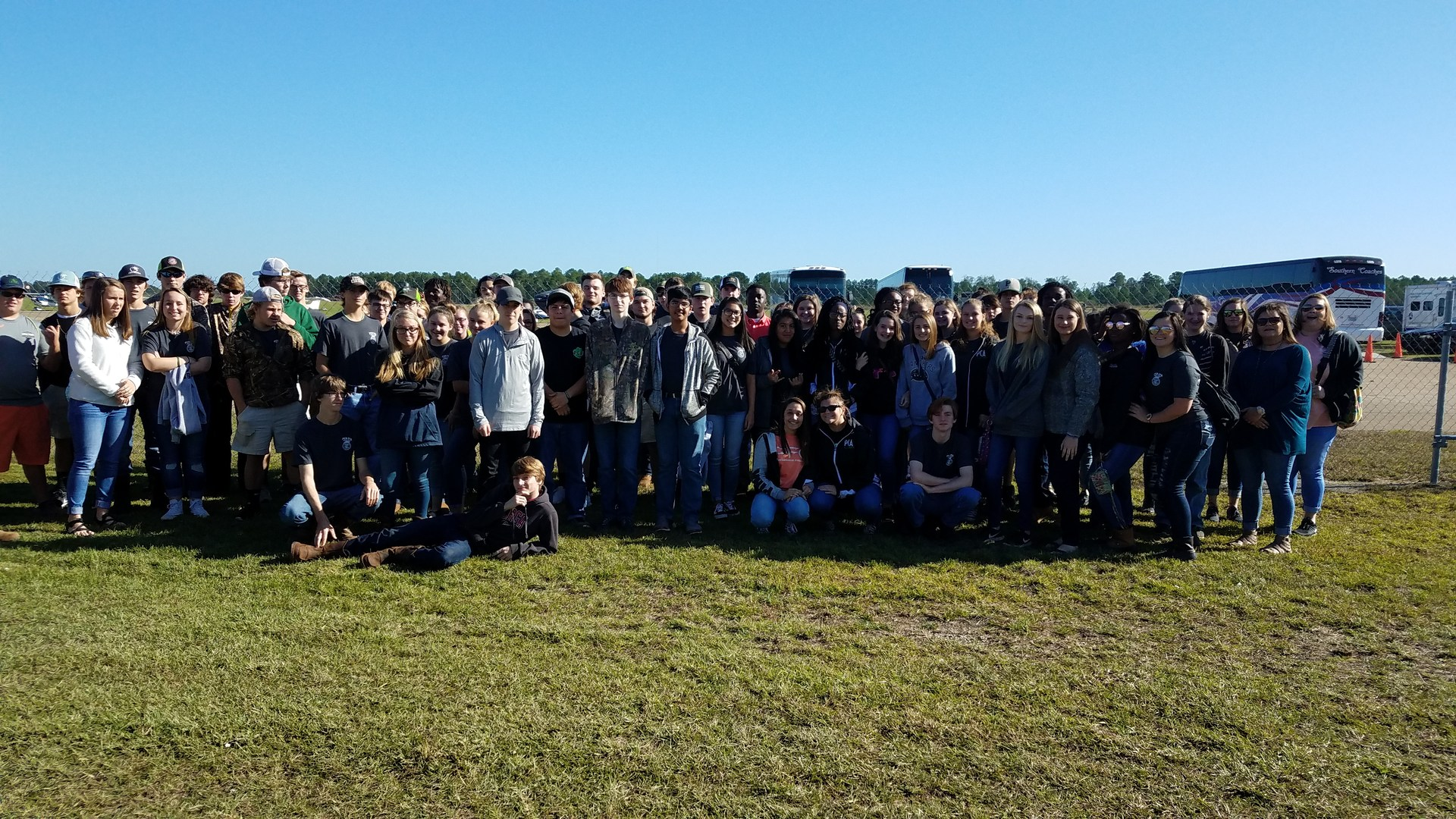 FFA members at the Sunbelt Ag Expo in Moultrie.