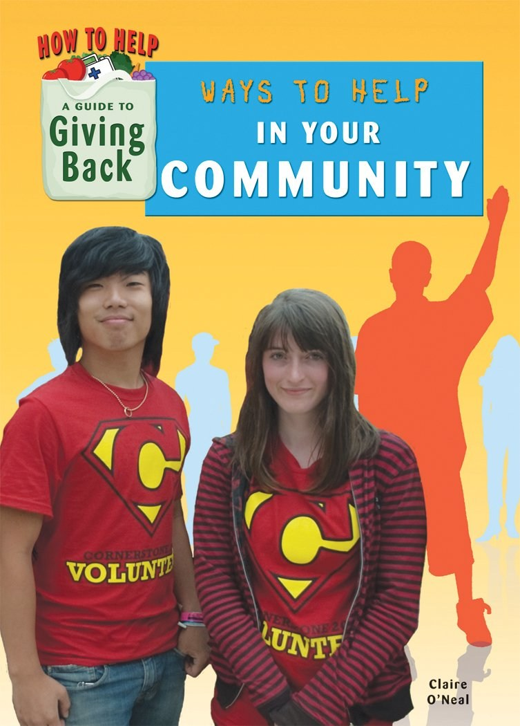 Ways to Help your Community by Claire O'Neal