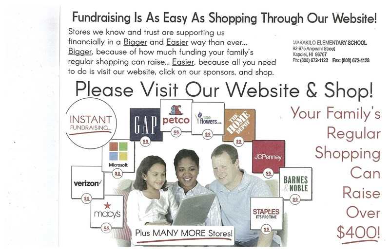 Your Family Shopping can help our School!!!!! Featured Photo