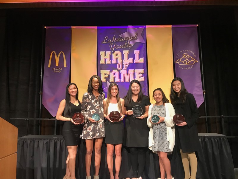 Jester Athletes Honored at Lakewood Youth Hall of Fame Banquet! Thumbnail Image