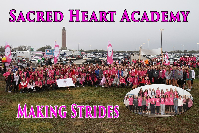 Sacred Heart Raises Over $12,000 for Breast Cancer Research Featured Photo