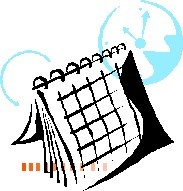 Calendar icon with caption.