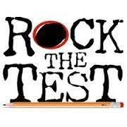 Rock the Test logo