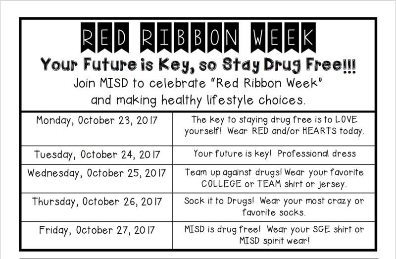 Red Ribbon Week is coming! Thumbnail Image