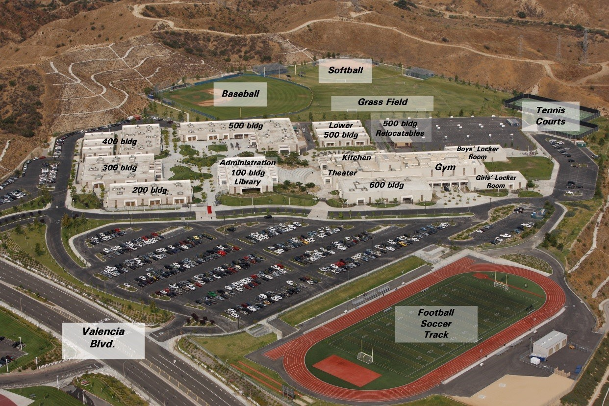 West Ranch High School Campus Map