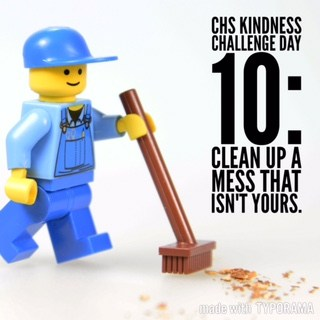 Kindness Week Challenge: Clean Up a Mess That Isn't Yours