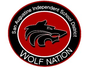 San Augustine Wolf Nation Logo