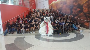 Sallas Mahone 5th Graders at World of Coke