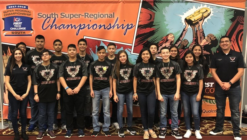 K. White MetalHawks Robotics team to compete in FTC World Championships Featured Photo