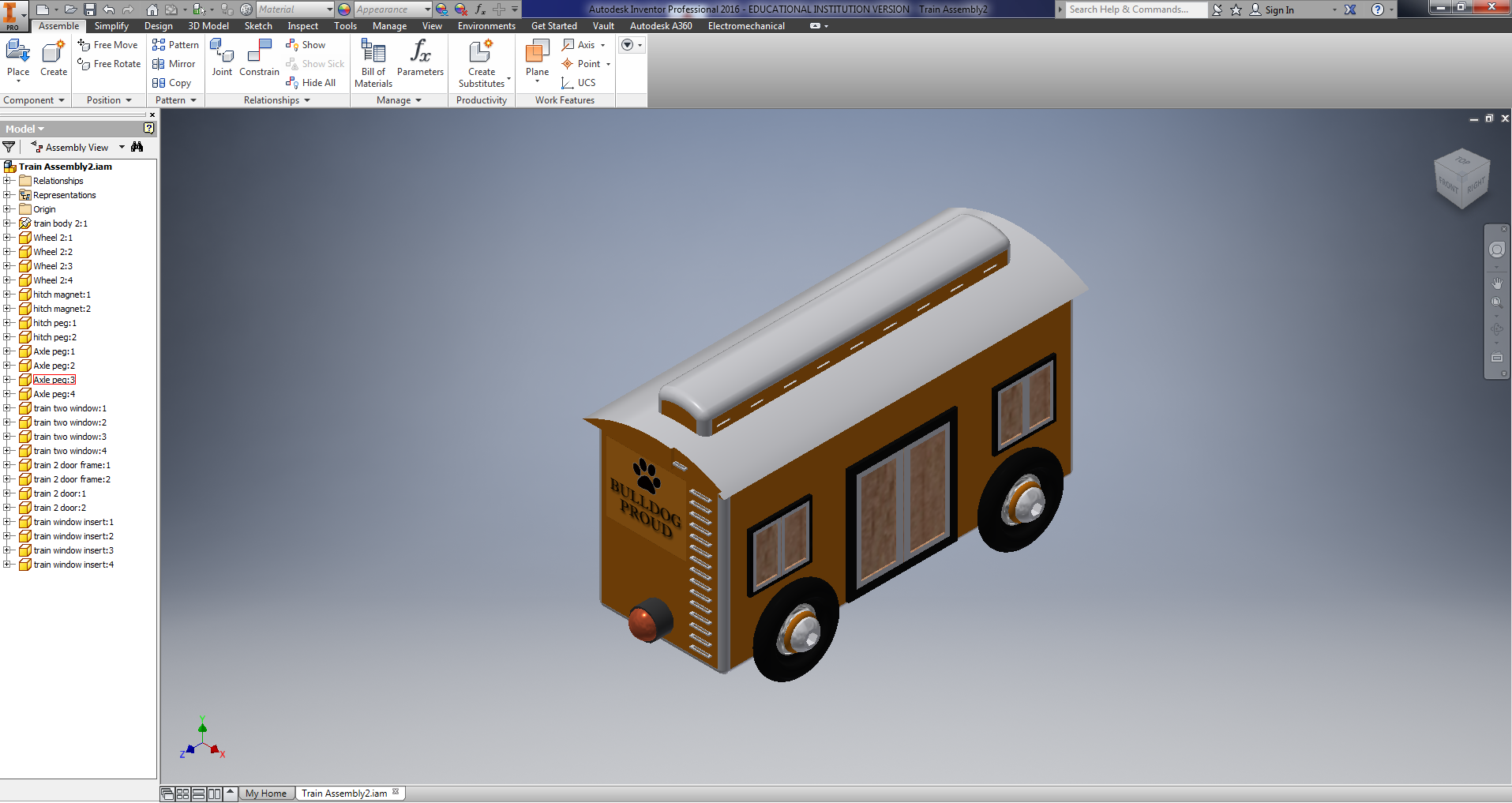 Train | 3d cad model library | grabcad.