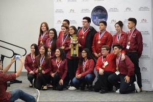 Granite Hills Aca Deca Team win Tulare County Title