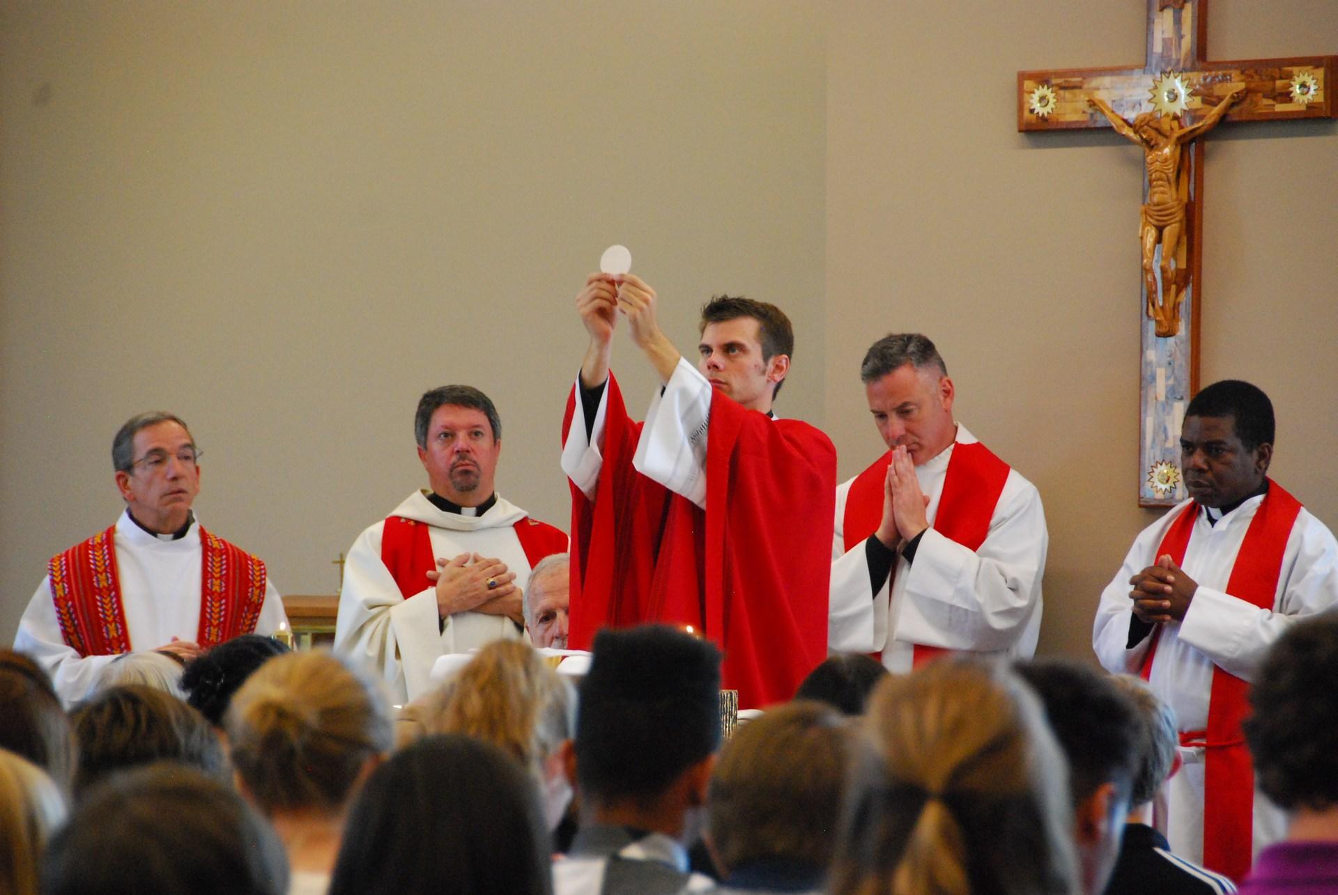 Photo of our school Chaplain, Fr. Bryan Ochs
