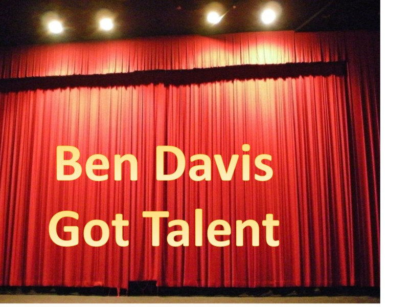 Ben Davis Got Talent February 8 at 6:00