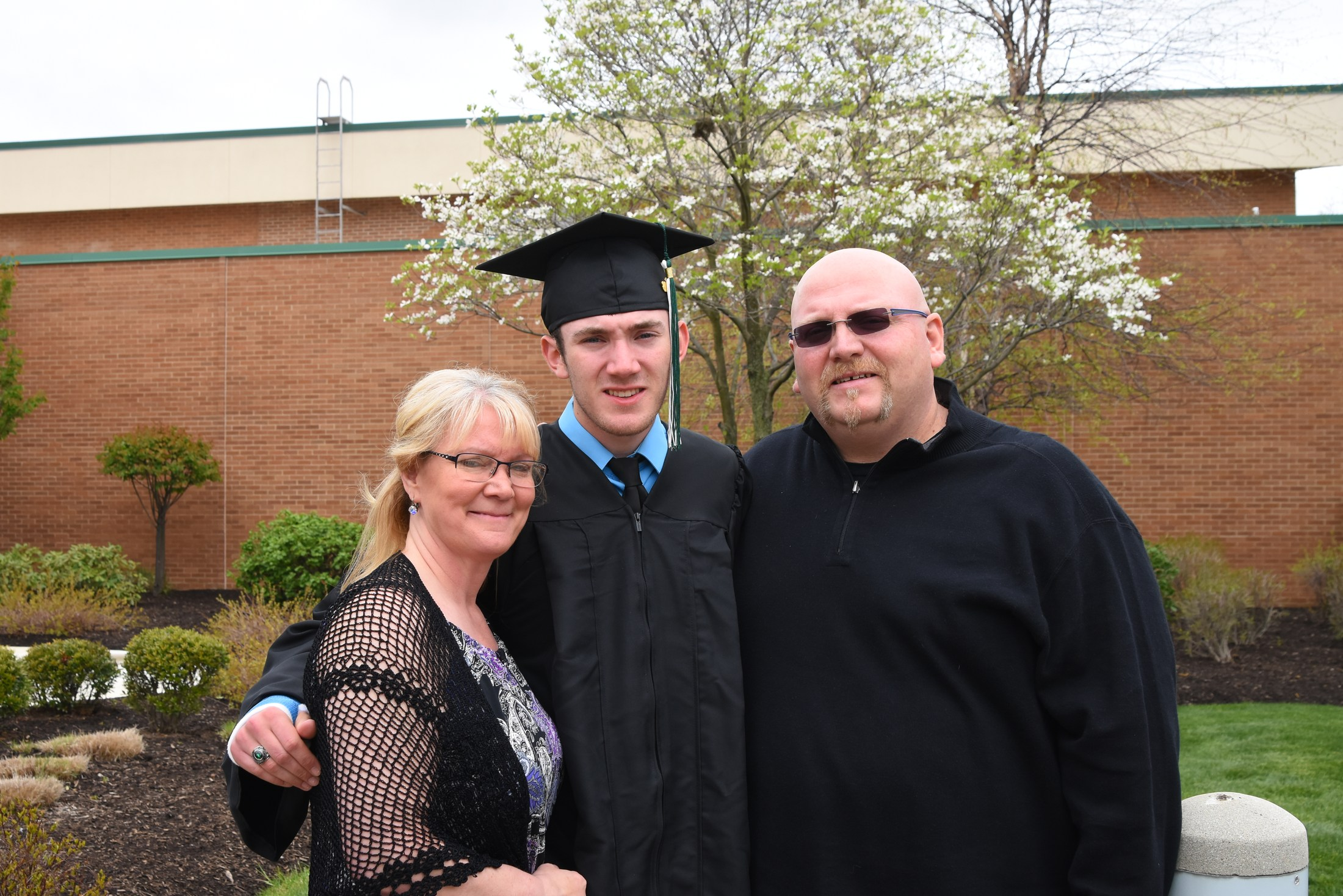 Picture of Family at Commencement
