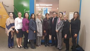 Early learning partners at the Board of Education meeting