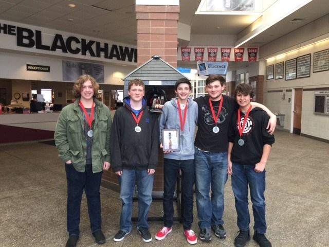 CHS STUDENTS TAKE 2ND PLACE IN ROBOTICS COMPETITION Thumbnail Image