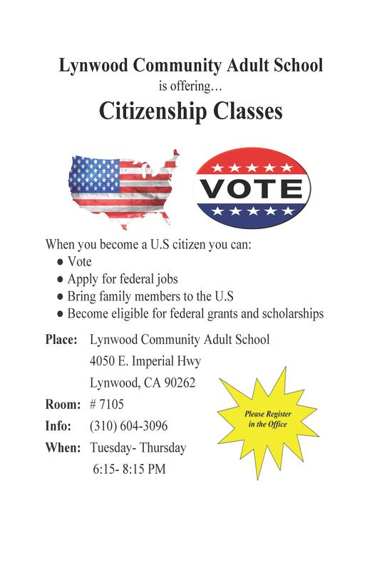 Citizenship Classes!! Featured Photo