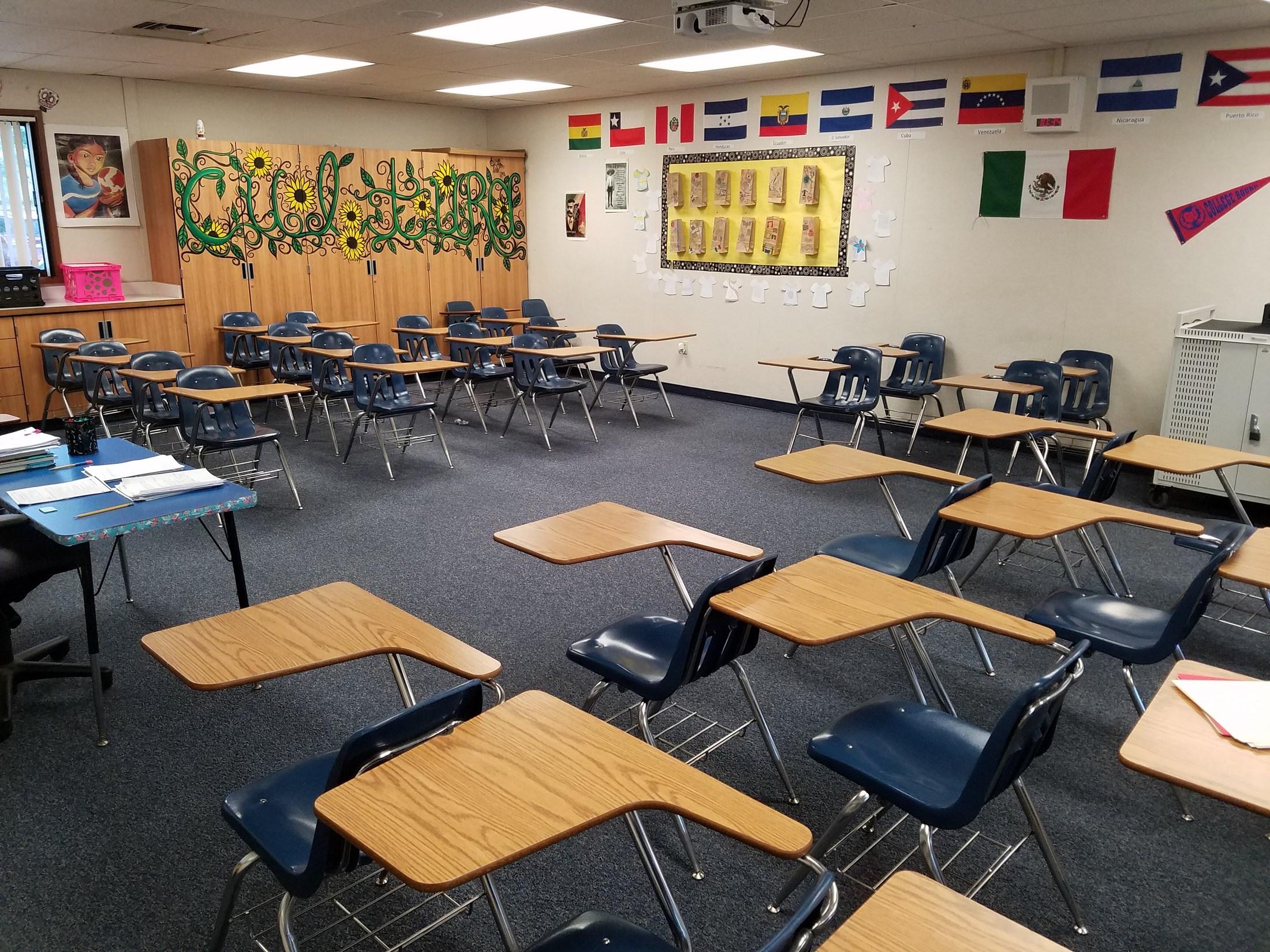 Z Arrangement Classroom Design Disadvantages : High school classroom desk arrangements hostgarcia