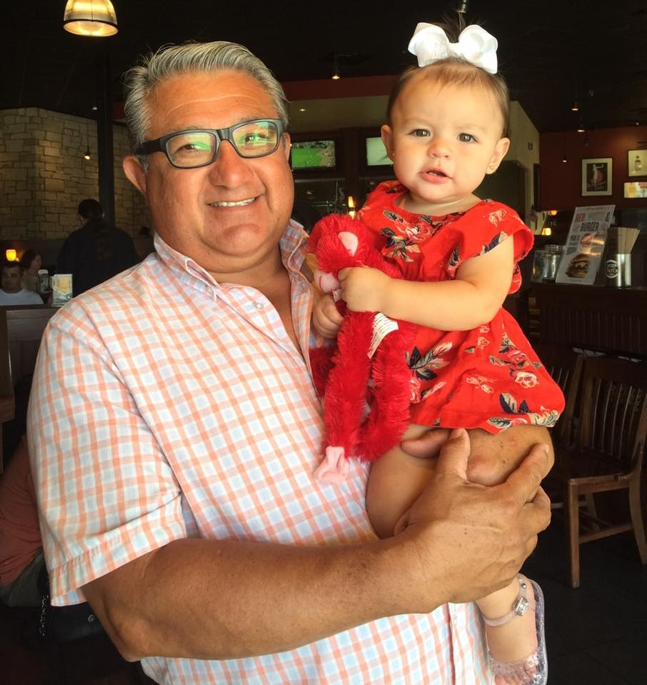 Mr. Sanchez and their granddaughter