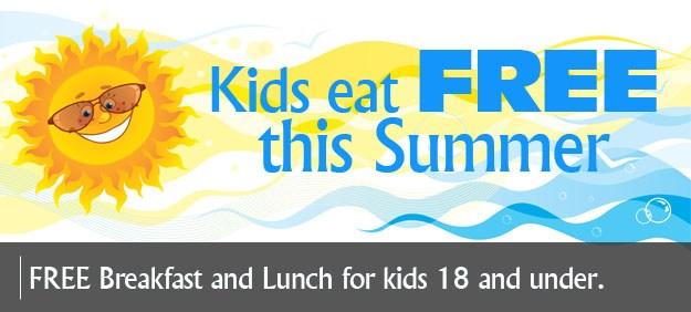 Free Summer Feeding Program for Children 18 & Under June 5 - July 20 Featured Photo